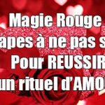 Magie blanche rituel d amour