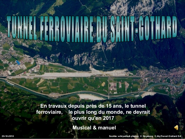 Tunnel gothard ouverture