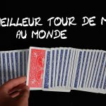 Youtube tour de magie carte