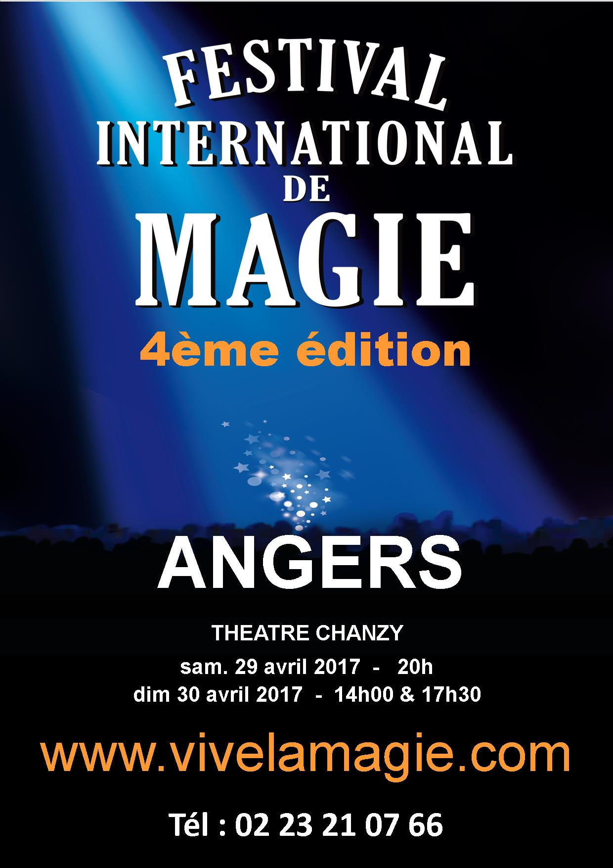 Spectacle magie angers