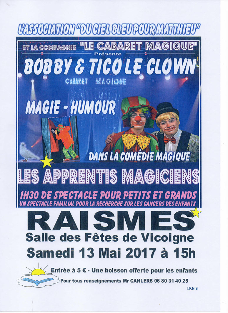 Spectacle magie humour