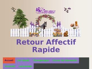 Retour affectif forum